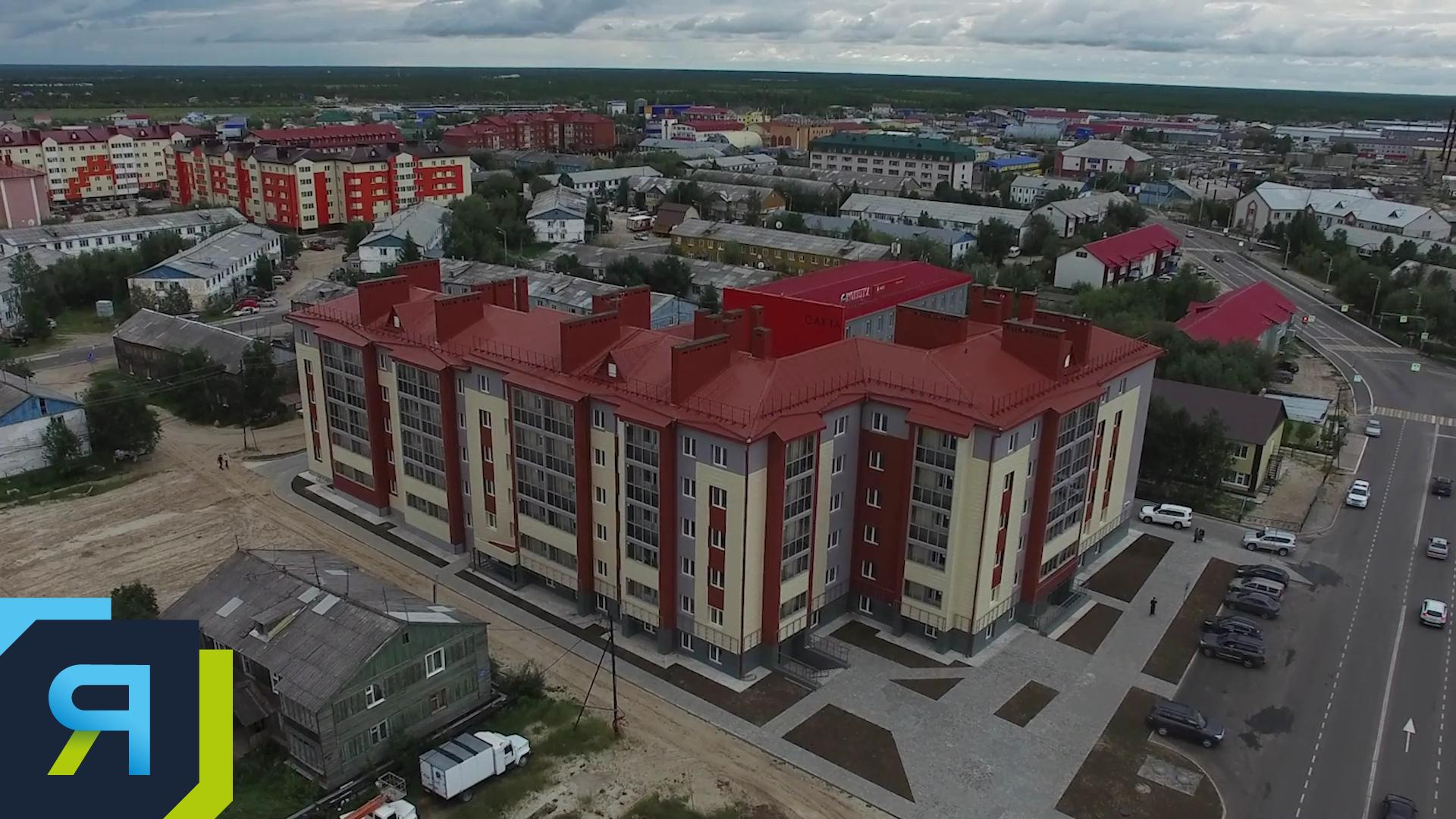 В Тазовском с начала года сдали 14 тысяч квадратных метров жилья
