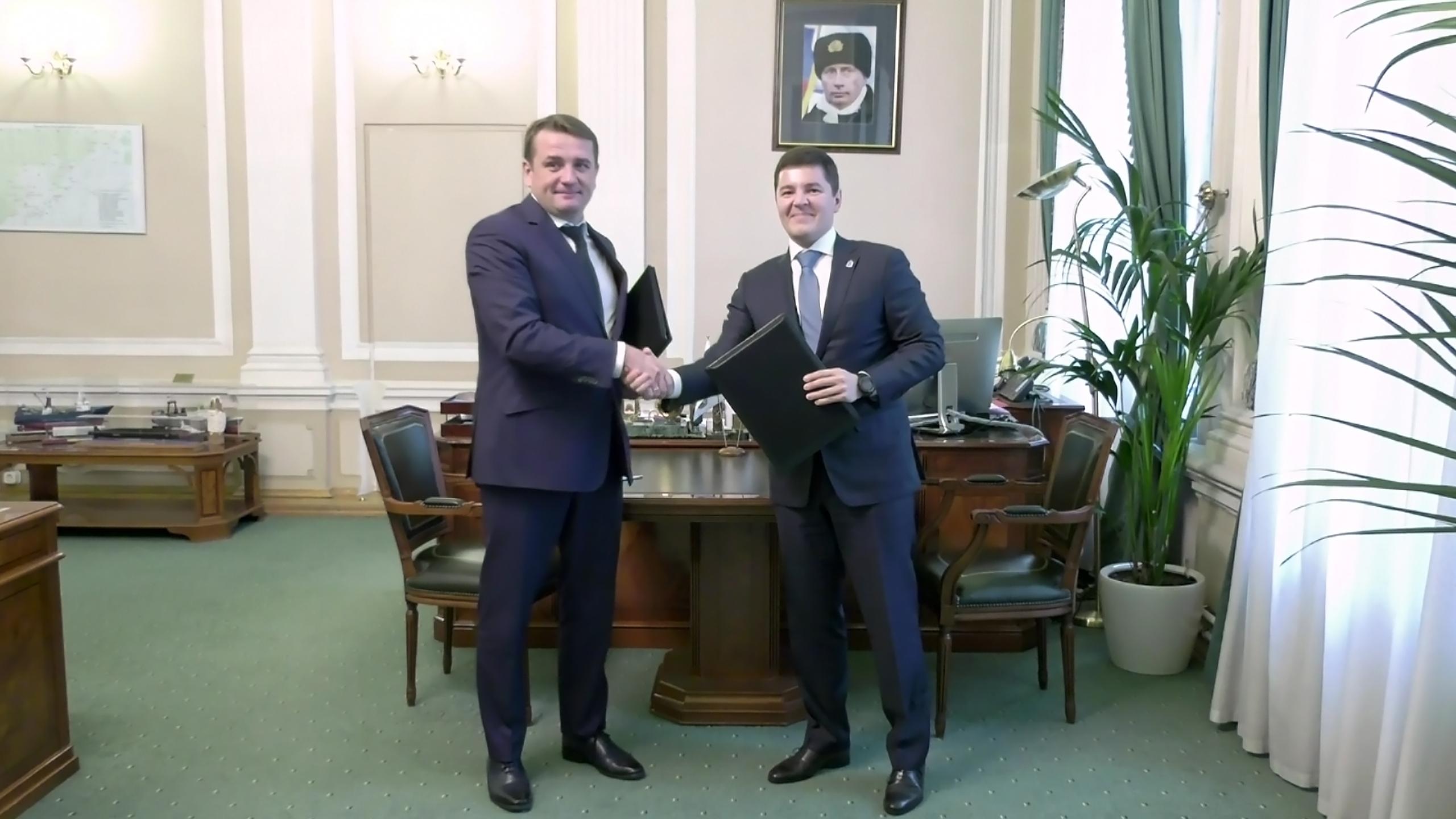 Губернатор ЯНАО и глава Росрыболовства договорились о сотрудничестве в сфере рыбодобычи