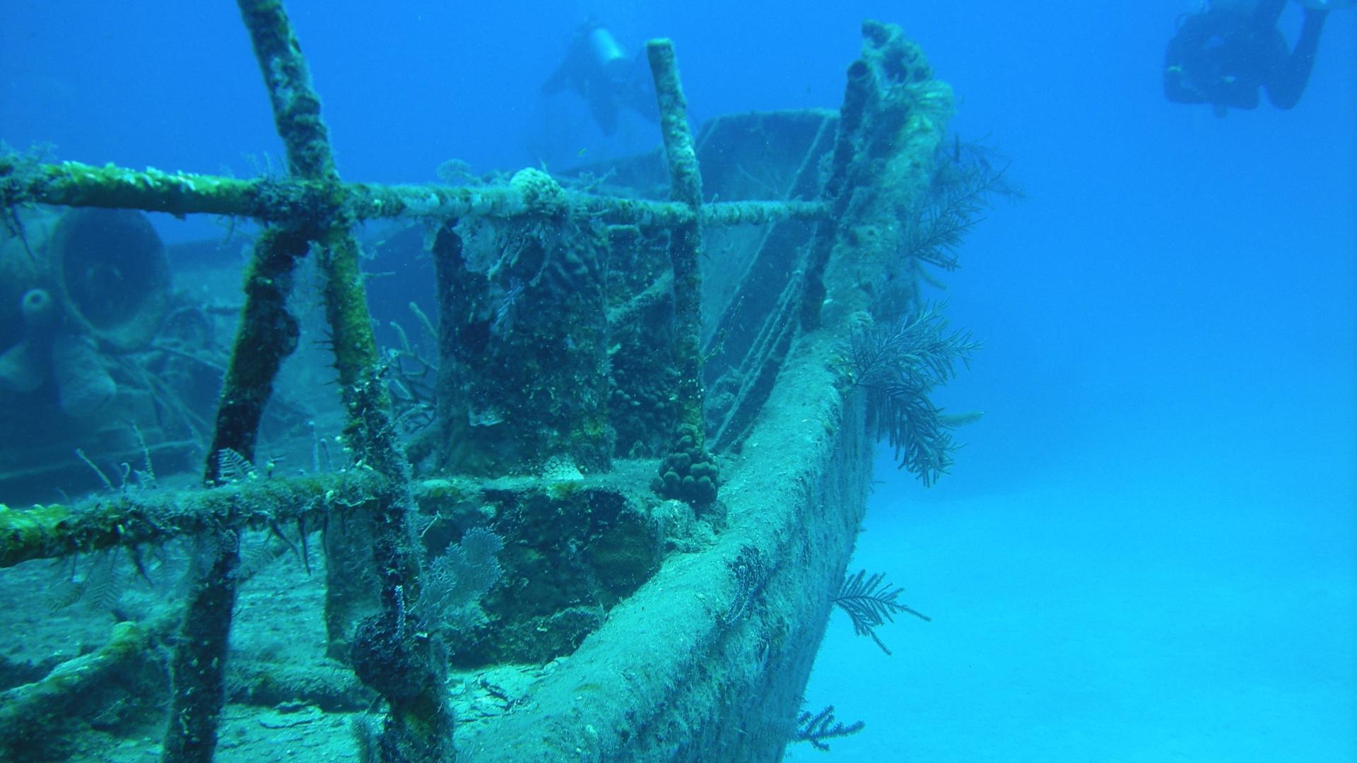 Обломки древнего военного корабля найдены в Египте