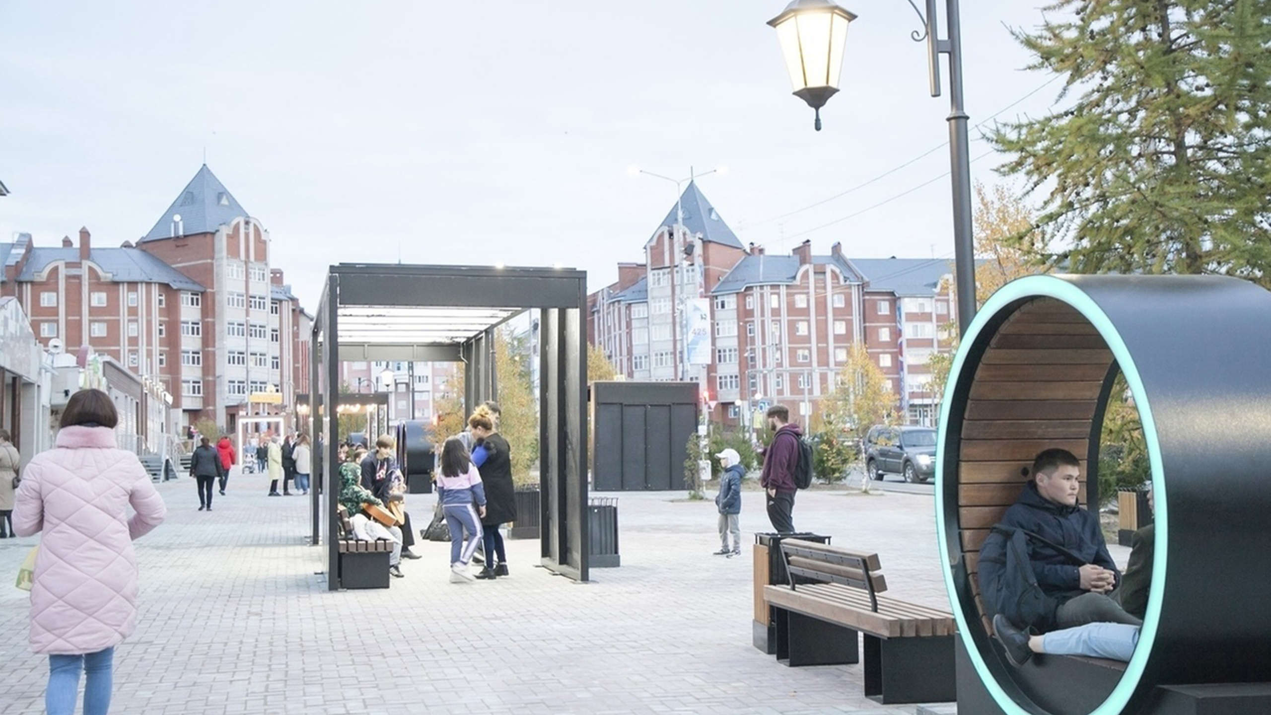 В столице Ямала назвали три проекта благоустройства для воплощения в 2022 году