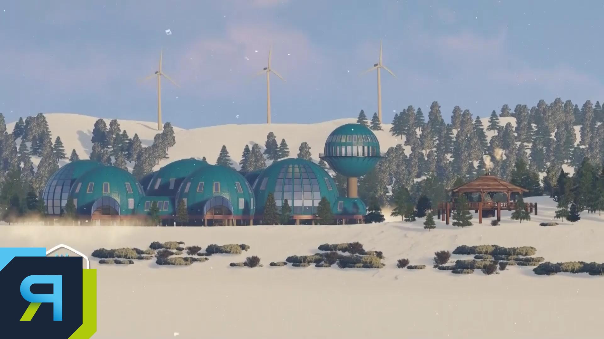 На Ямале начались работы на месте строительства станции «Снежинка»