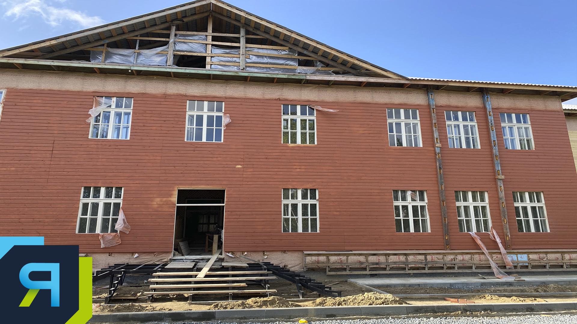 Реставраторам здания сталинской эпохи в Салехарде помогли архивные документы